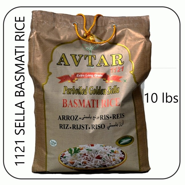 Avtar 1121 golden sella 10 lbs