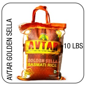 Avtar golden sella parboiled basmati