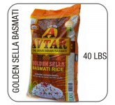Avtar parboiled golden sella basmati 40lbs