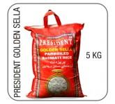 President golden sella basmati 5 kg