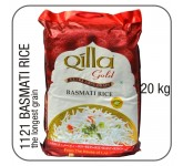 1121 Qilla gold indian basmati 20 kg