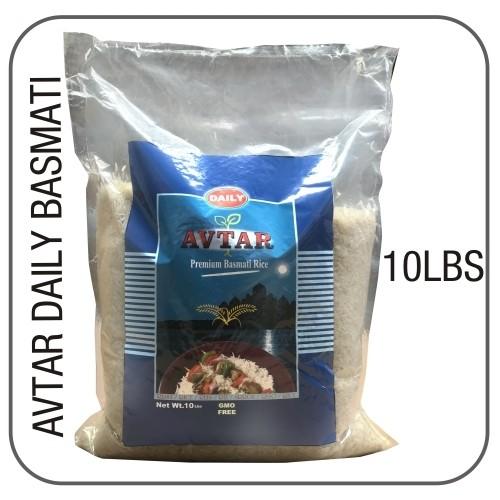 Avtar daily white basmati 10 lbs