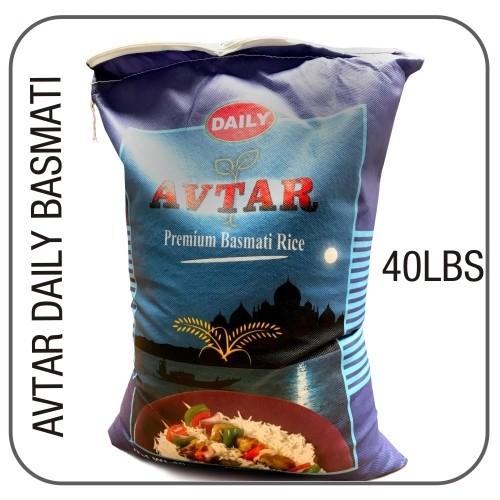 Avtar daily white basmati 40 lbs