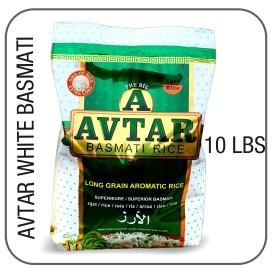 Avtar lange korrel witte basmati rijst