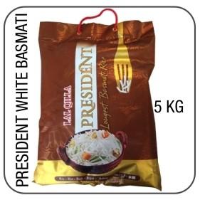 President white long grain basmati 5 kg