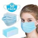 Mondmasker anti-bacterial 50 stuks
