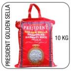 President golden sella basmati 10 kg