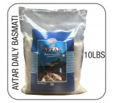Avtar Daily basmati white long 10 lbs