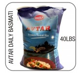 Avtar Daily basmati white long 40 lbs